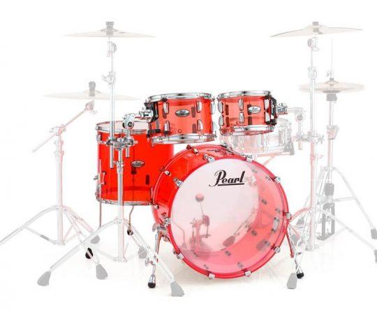 Perkusje Pearl z dobrej jakości drewna